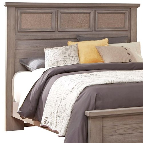 Vaughan Bassett Gramercy Park Full Queen Tile Headboard Hudson 39 S Furniture Headboards Tampa