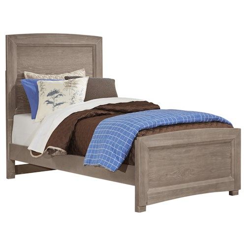 Vaughan Bassett Transitions Twin Panel Bed Great American Home Store Panel Beds