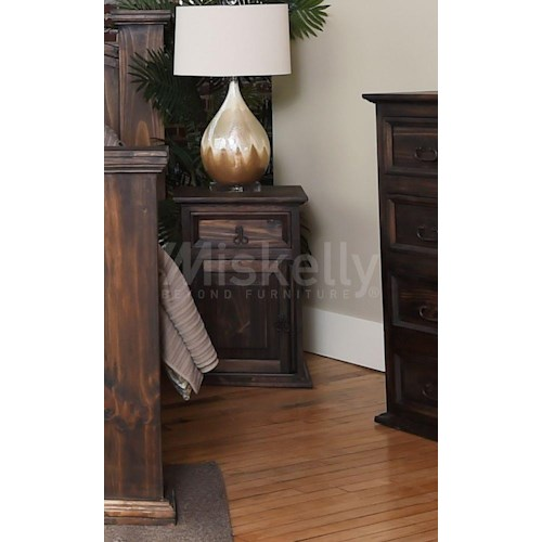 Vintage Empire Nightstand Miskelly Furniture Night Stand Jackson Mississippi