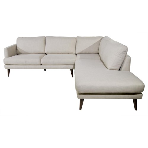 Violino randall sectional red knot sofa sectional for Sectional sofa hawaii
