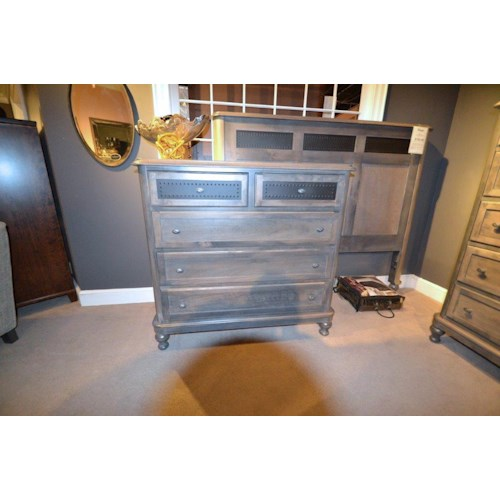 Wayside Custom Furniture Tribecca 411 5 Drawer Media Chest Wayside Furniture Chest Media Chest