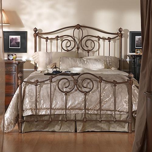 Wesley Allen Iron Beds Queen Olympia Metal Bed Wayside