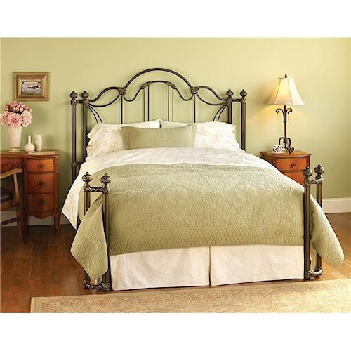 Wesley Allen Iron Beds Hofrp7035q Queen Marlow Iron Bed
