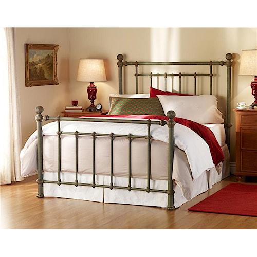 Wesley Allen Iron Beds Cb1315q Revere Poster Bed Baer 39 S Furniture Headboard Footboard Boca