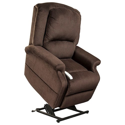 Windermere motion lift chairs infinite position zero for Anti gravity chaise recliner
