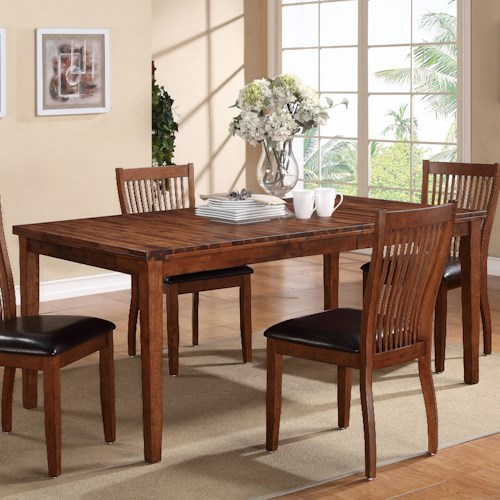 home dining room furniture dining room table winners only broadway leg