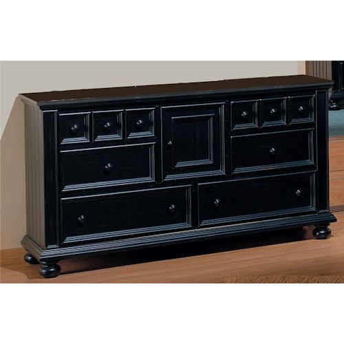 Winners Only Cape Cod 6 Drawer Dresser With One Door