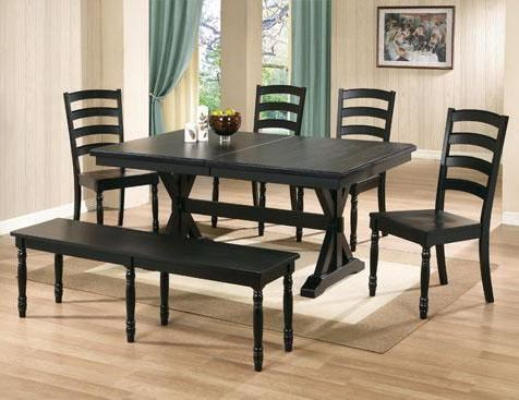 Winners Only Quails Run 6 Piece 84 Quot Dining Table
