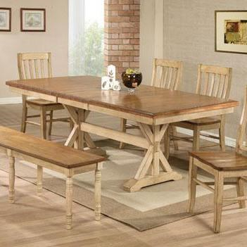 winners only quails run 84 quot dining table mueller dining room mueller furniture lake st louis