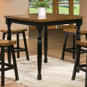 Winners Only Quails Run 36 Quot Square Tall Table Godby Home