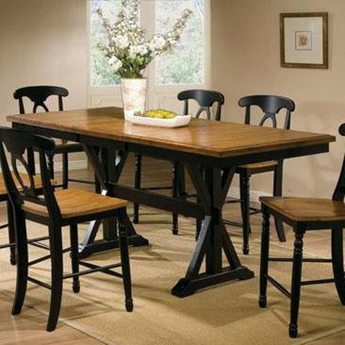 home dining room furniture pub table winners only quails run 78 tall