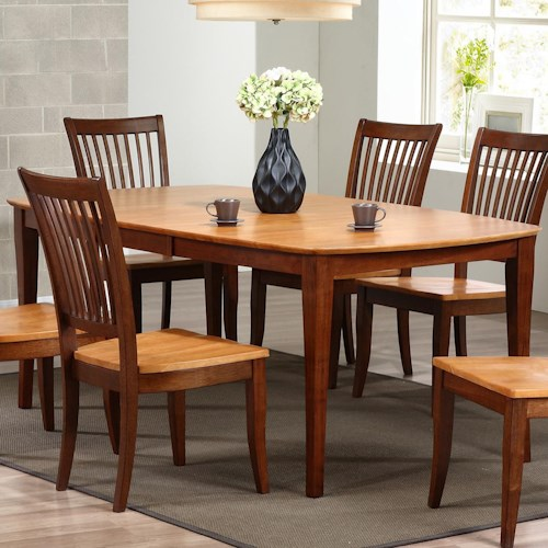 dining room table santa barbara dining table with butterfly leaf