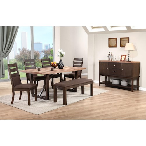 Home Casual Dining Room Group Winners Only Venice Casual Dining Room
