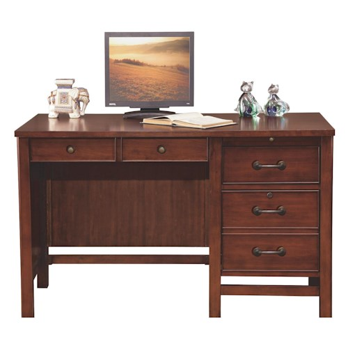 Winners Only Willow Creek 48 Flattop Desk Made Of Cherry