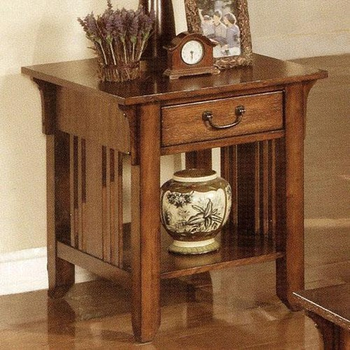 Winners Only Zahara 1 Drawer End Table Godby Home