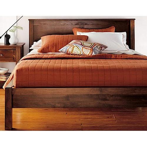 Witmer furniture taylor j full size 2 panel platform bed for Taylor j bedroom furniture