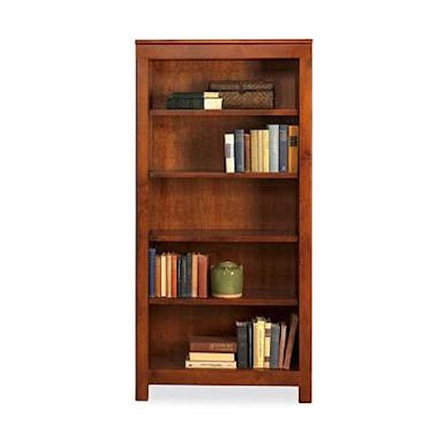 Witmer furniture taylor j 4 shelf bookcase dunk bright for Taylor j bedroom furniture