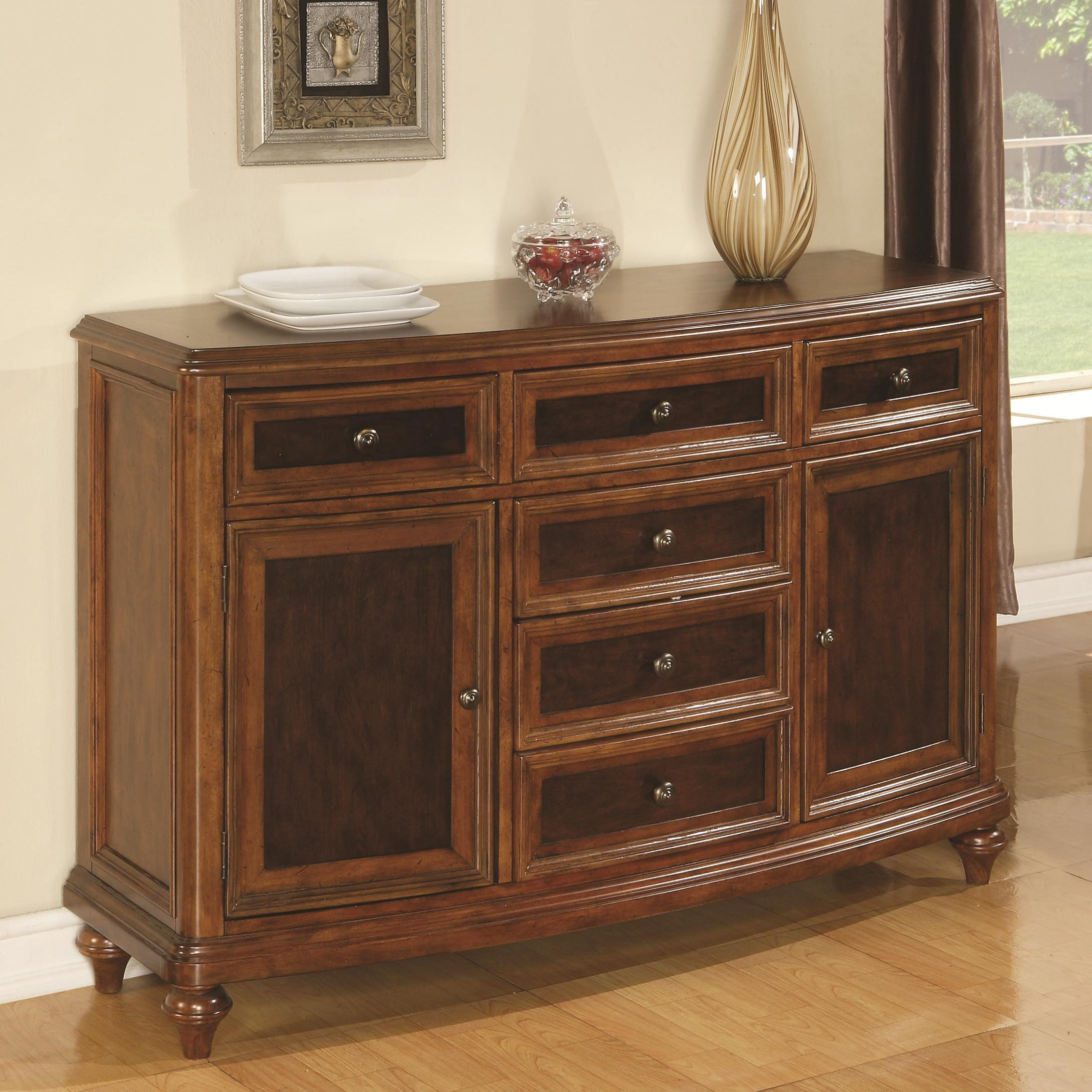 Flexsteel Wynwood Collection Brendon Two Tone Dining