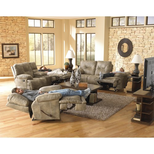 Catnapper Voyager Reclining Living Room Group