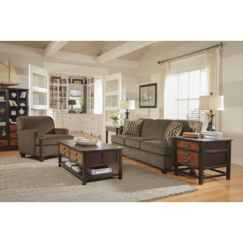 Flexsteel Dempsey Stationary Living Room Group Hudson 39 S Furniture Upholstery Group Tampa St