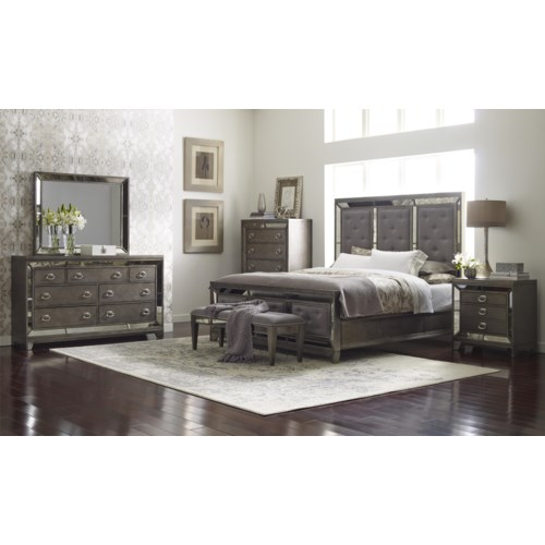 avalon furniture lenox king bedroom group pilgrim furniture city
