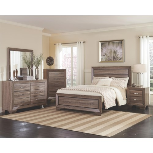 Oregon Bedroom Furniture Coaster Kauffman Queen Bedroom Group Rife 39 S Home Furniture Bedroom