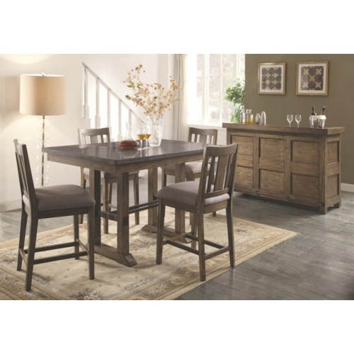 Casual Dining Room Group Coaster Willowbrook Casual Dining Room