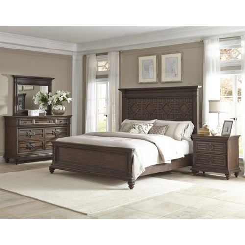 home bedroom group klaussner international palencia queen bedroom