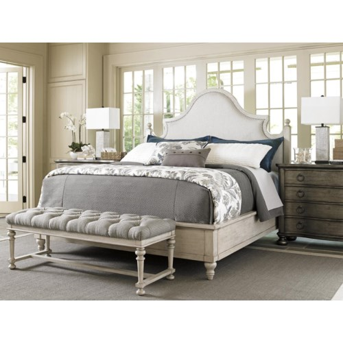 Lexington Oyster Bay King Bedroom Group Belfort Furniture Bedroom