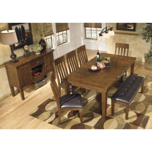 Ralene casual dining room group for Wine and design west ashley