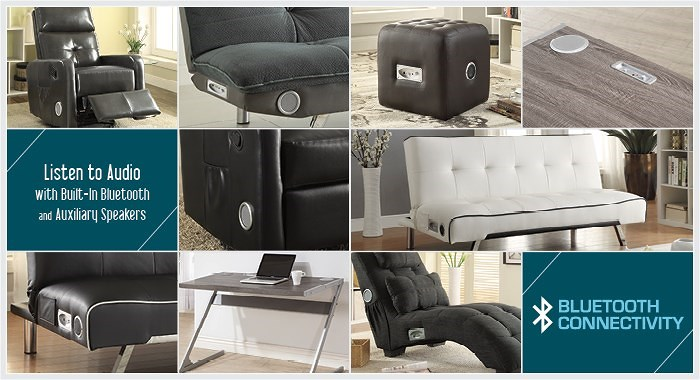 Scott Living New 2016 Donny Osmond Home Collection Furniture With Bluetooth Technology