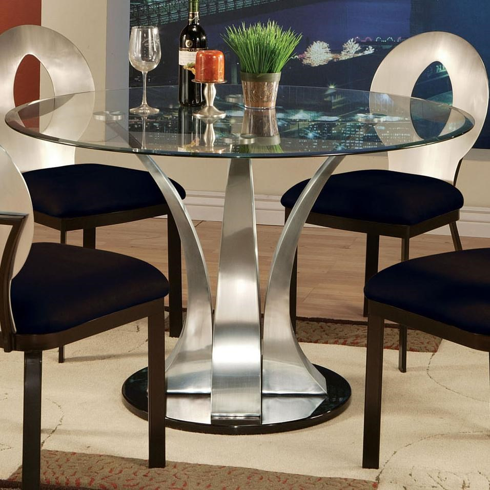 Katelys Glass and Metal Dining  The Sims Resource