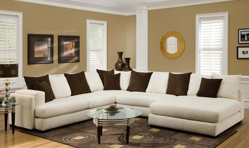 Albany 880 Sectional Sofa With Right Side Chaise