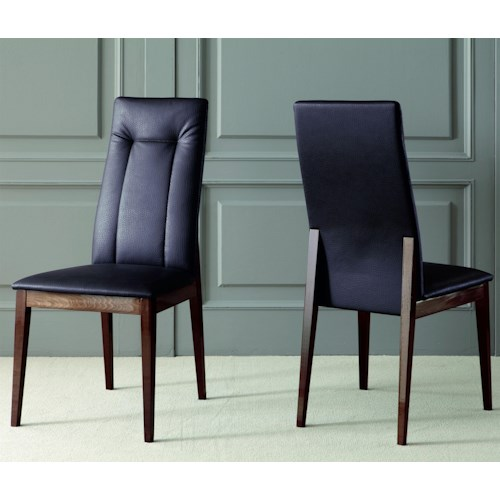 Alf Uno Spa Torino Modern Dining Room Side Chair with Armless ...