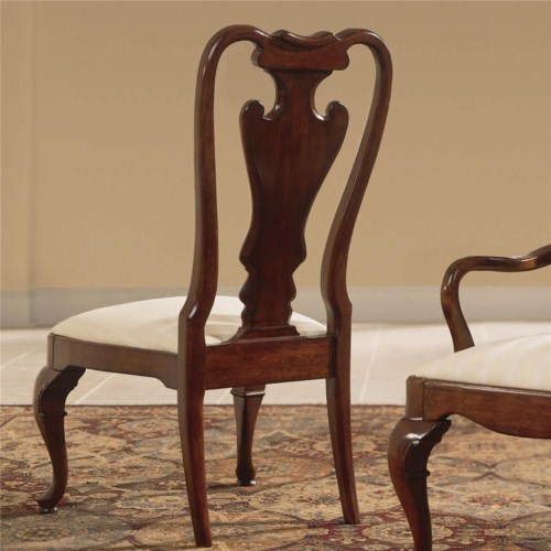 American Drew Cherry Grove 45th Side Chair with Splat Back