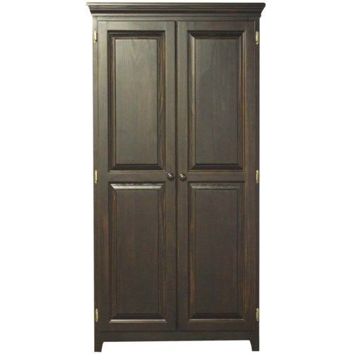 Pine Kitchen Cabinet Pantry Storage: Archbold Furniture Pantries And Cabinets Pine 2 Door
