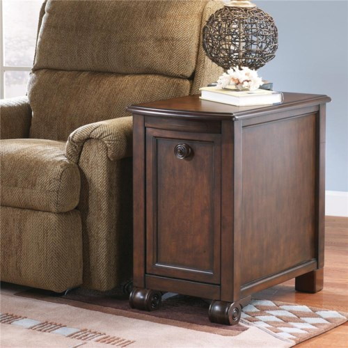Signature Design by Ashley Brookfield Chairside End Table w/ Drawer