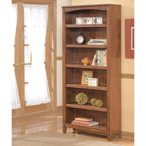 Ashley Furniture Cross Island Large Bookcase Godby Home Furnishings Open Bookcase