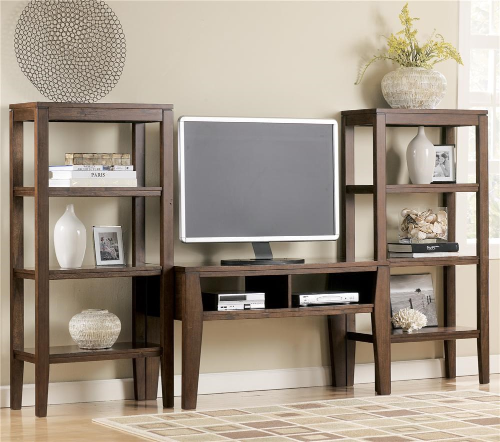 Signature Design by Ashley Deagan Contemporary TV Stand ...