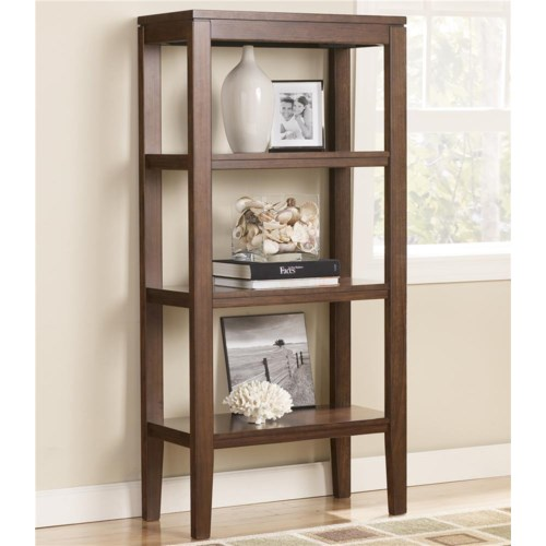 Signature Design by Ashley Furniture Deagan Pier Bookcase with 3 Shelves
