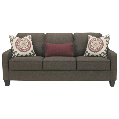 Ashley Furniture Dinelli Queen Sofa Sleeper with Memory Foam Mattress