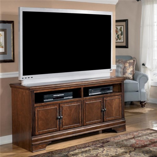 Signature Design By Ashley Hamlyn Large Tv Stand Royal Furniture Tv Or Computer Unit Memphis