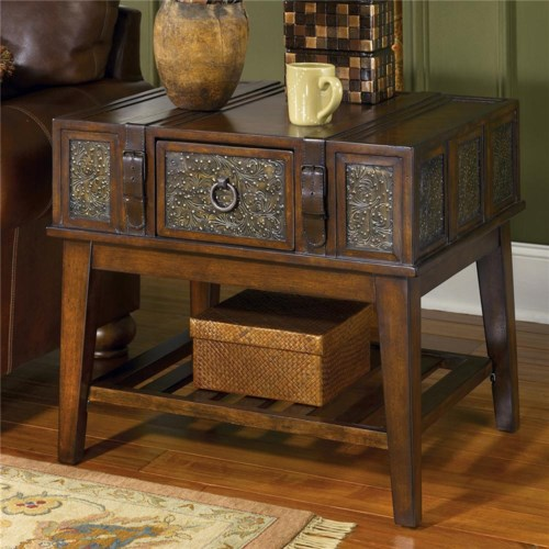 Signature Design By Ashley Mckenna Rectangular End Table Royal Furniture End Table Memphis