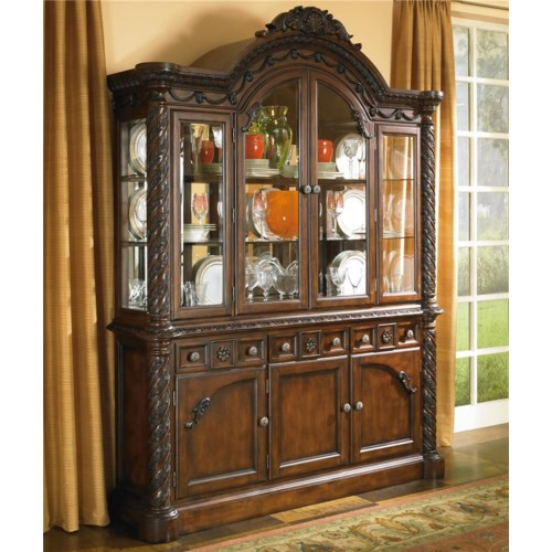 Millennium By Ashley North Shore China Cabinet