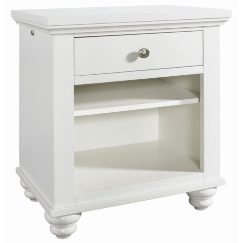 Aspenhome Cambridge Night Stand with Drawer