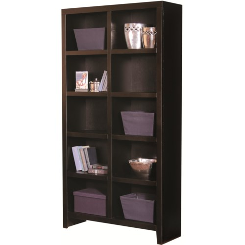 Aspenhome Essentials Lifestyle 77 Inch Cube Bookcase