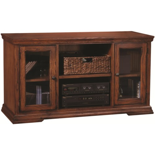 Aspenhome Essentials New Traditions 51-Inch Televsion Console with Two Doors and Three Shelves