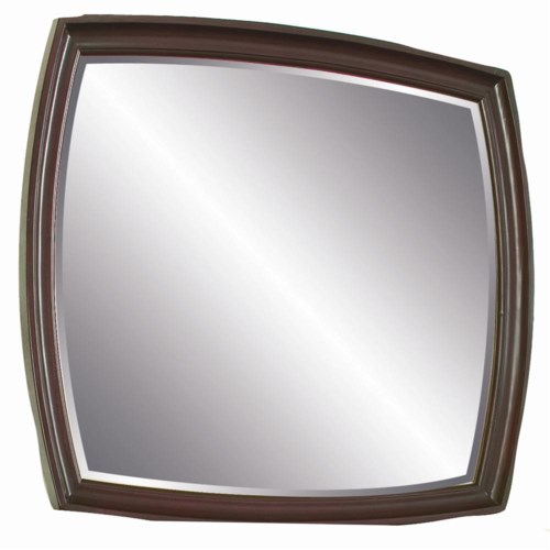 Aspenhome Kensington  Rounded Accent Mirror