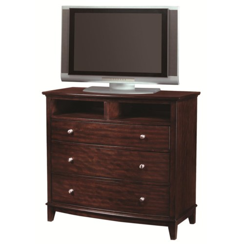 Aspenhome Lincoln Park 3 Drawer Entertainment Chest