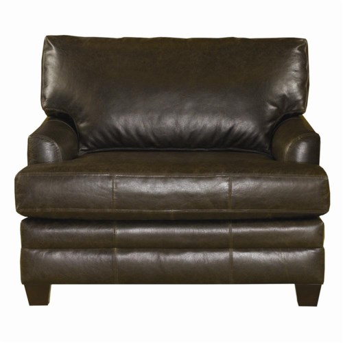 Bassett CU.2 Upholstered Leather Chair and a Half